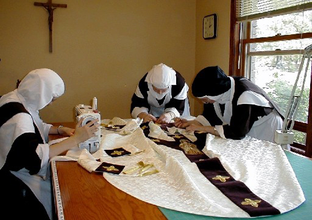 Sewing Vestments